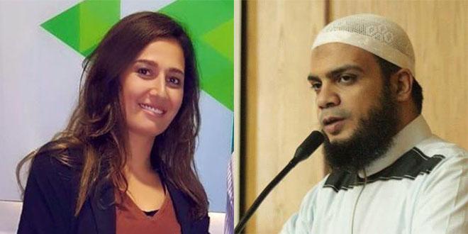 """حلا شيحة عن محمد الصاوي: """" جوزي ما قالش الكلام ده"""""""