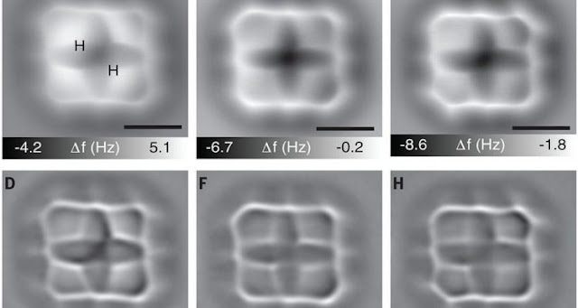 First real-time images of molecules that change their electric charge