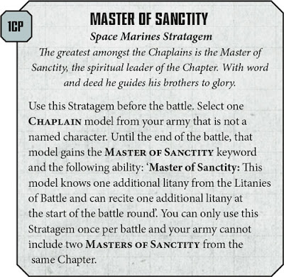 Estratagema Master of Sanctity