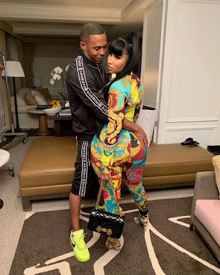Nicki Minaj and Kenneth Petty latest photos