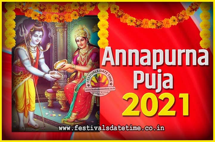 2021 Annapurna Puja Date & Time - अन्नपूर्णा पूजा 2021 तारीख और समय - অন্নপূর্ণা পূজা ২০২১ তারিখ আর সময়