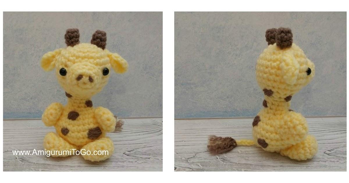 Tiny giraffe amigurumi pattern - Amigurumi Today   630x1200