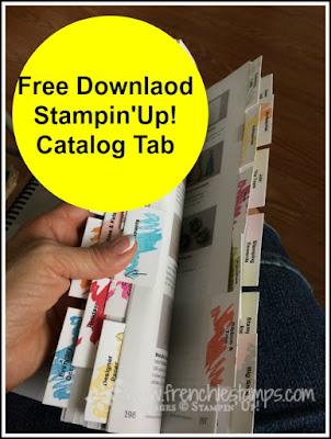Stampin'Up! catalog tab Free Download