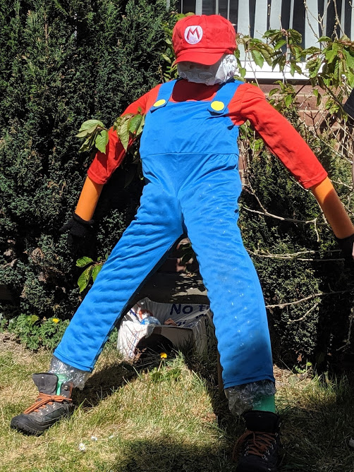 8 Easy Ways to Have Fun in your Garden this Summer  - make a scarecrow
