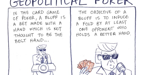 Cartoonconnie Comics Blog Geopolitical Poker