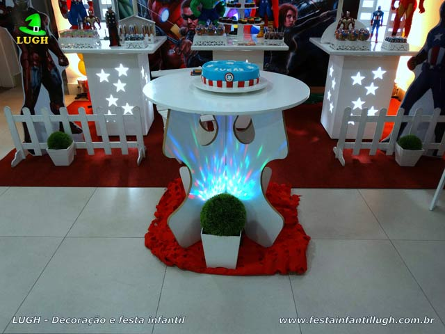 Decoração infantil Os Vingadores - Festa de aniversário