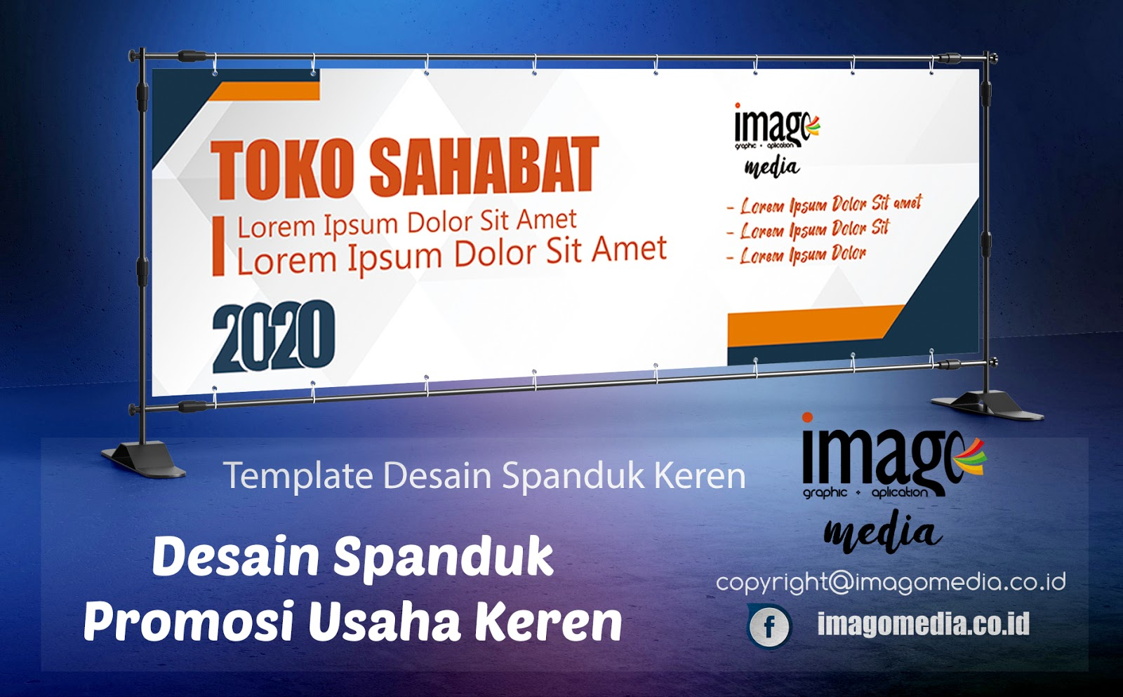 Desain Spanduk Promosi Usaha Keren - Imago Media   Home Of ...