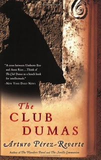 https://www.amazon.com/Club-Dumas-Arturo-Perez-Reverte/dp/015603283X/ref=sr_1_1?ie=UTF8&qid=1487556545&sr=8-1&keywords=the+club+dumas