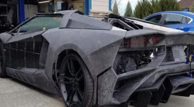 पिता ने बेटे के लिए दिखाया प्यार, 14 लाख में बनाकर रख दी लैंबोर्गिनी कार