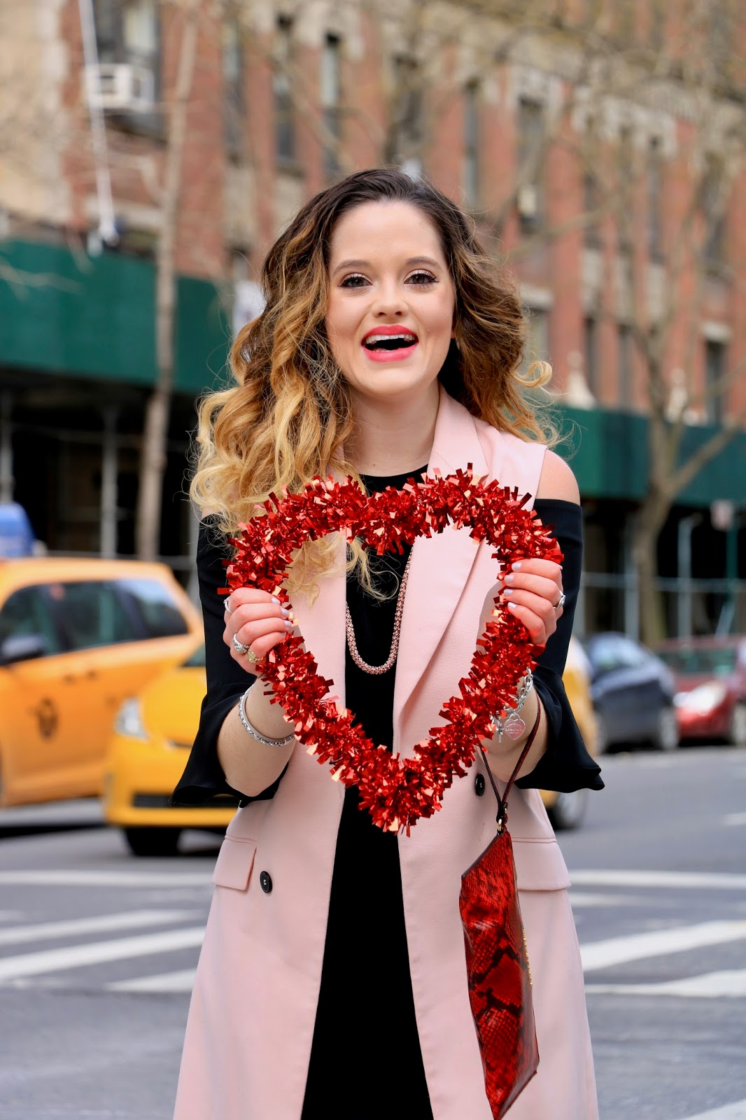 Nyc fashion blogger Kathleen Harper's Valentine's Day pics