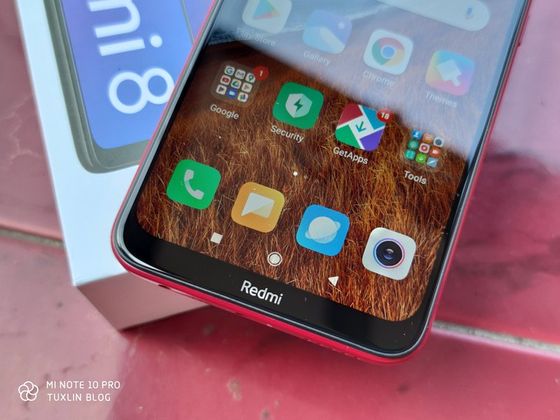 Desain Xiaomi Redmi 8