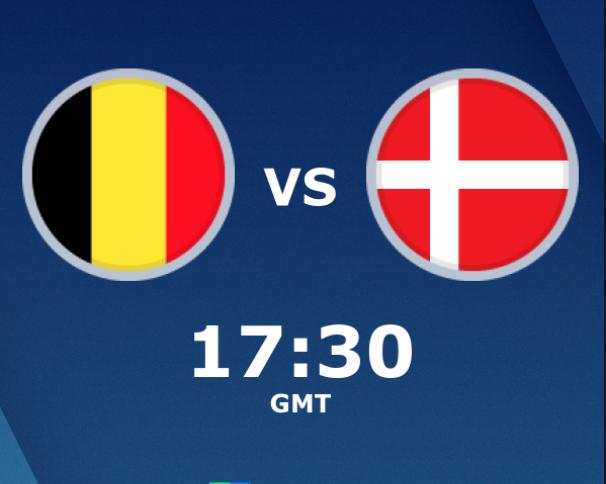 بث مباشر مباراة بلجيكا والدنمارك