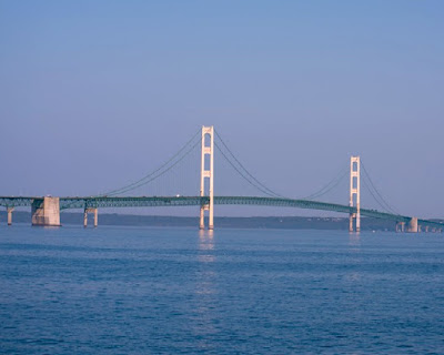 Mackinaw Bridge in Michigan