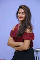 Pavani Gangireddy in Cute Black Skirt Maroon Top at 9 Movie Teaser Launch 5th May 2017  Exclusive 043.JPG