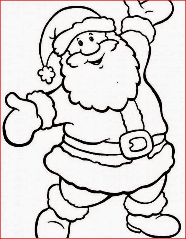 Coloring Pages: Santa Claus Coloring Pages Free and Printable
