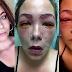 Remaja nyaris buta selepas warnakan bulu mata dan kening