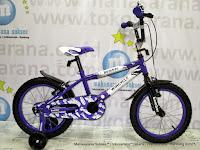 Sepeda Anak Laki-Laki Wimcycle Bomber BMX 16 Inci