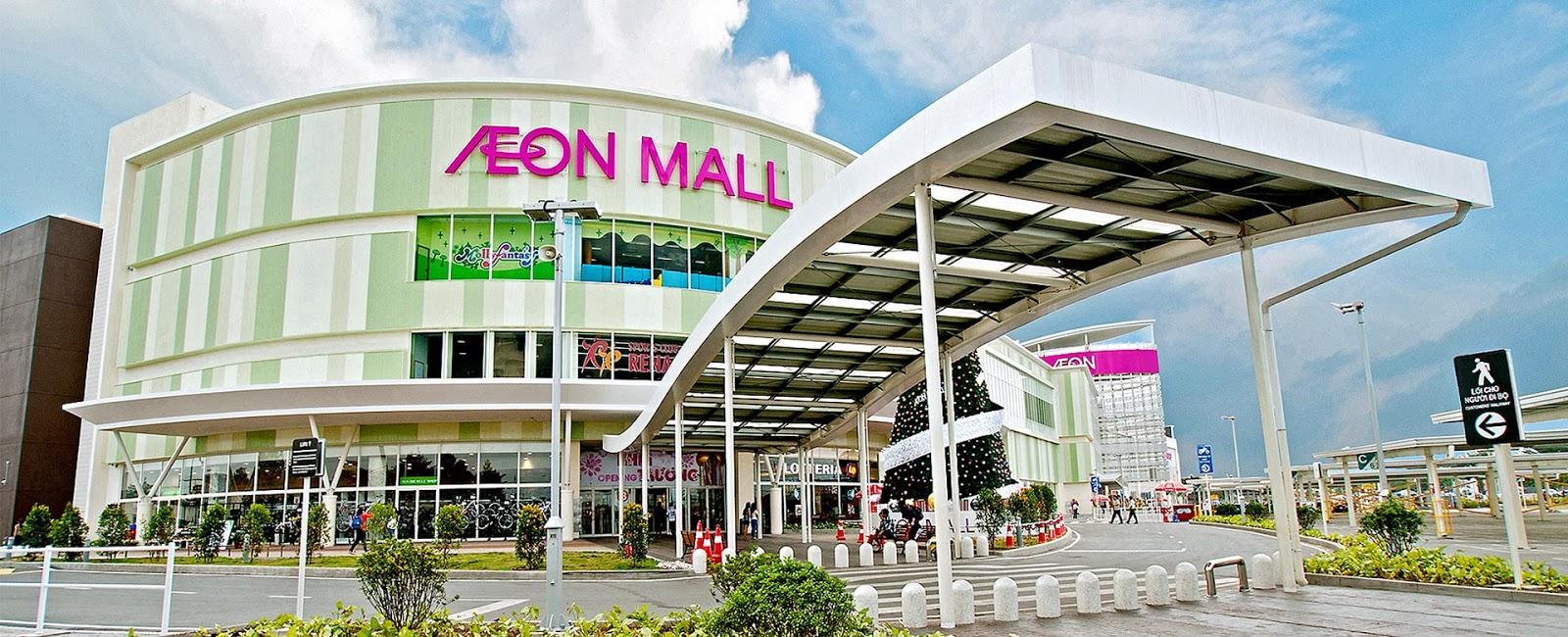 Trung tâm thương mại Aeon Mall Hoàng Mai