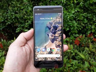 Hape Google Pixel 2 Seken 4G LTE RAM 4GB ROM 64GB NFC Mulus Normal