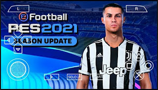 Download PES 2021 PPSSPP Chelito V7 Best Camera PS4 New Faces Hairs Player & English Commentary
