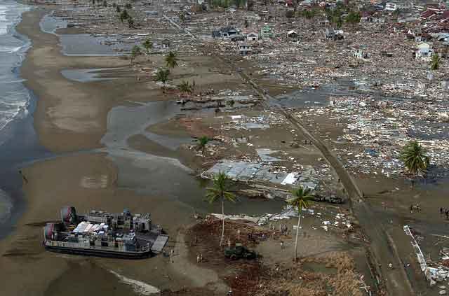 tindakan penyelamatan diri saat gempa tsunami
