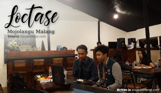 Kedai Susu lactose di Mojolangu Malang