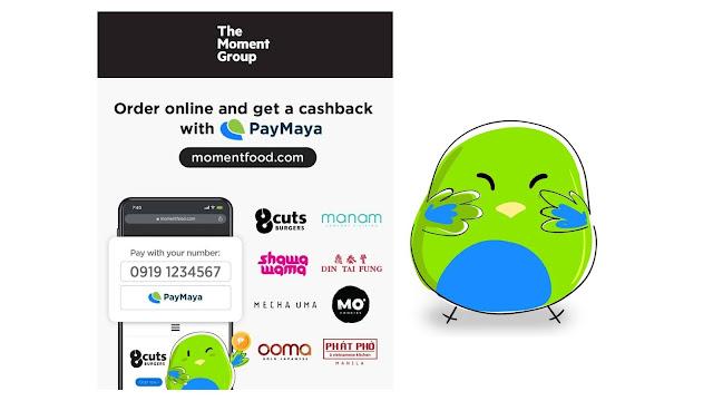 PayMaya e-wallet accounts