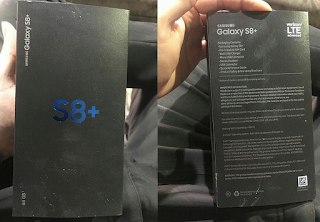 Samsung Galaxy S8 Box