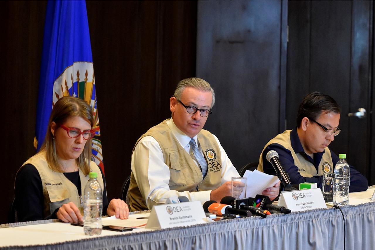 Gonzalez encabezó por la OEA las dos últimas misiones de observación en Bolivia / WEB