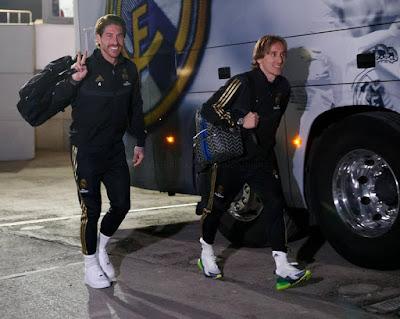 Final preparations ahead of tomorrow's LaLiga match against Espanyol ✌️#RealMadridEspanyol #FansRMCF #GradaFansDeKerala #CR7 #Modric #Ramos...