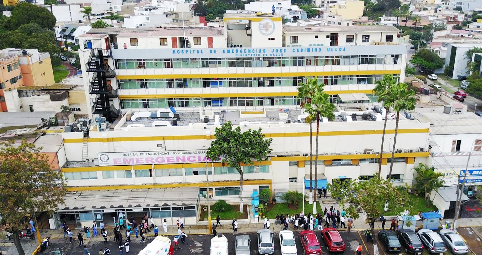 Hospital de Emergencias José Casimiro Ulloa