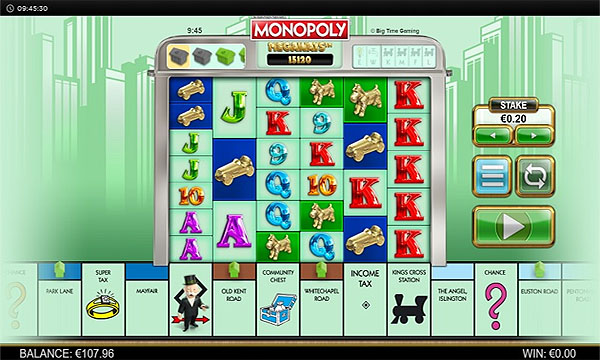 Main Gratis Slot Indonesia - Monopoly Megaways (Big Time Gaming)