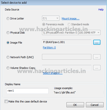 How to Retrieve Saved Password from RAW Evidence Image