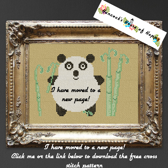 free cross stitch design free cross stitch pattern kawaii panda
