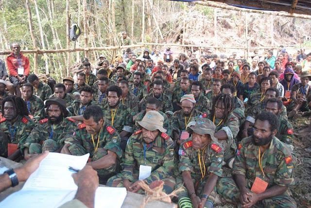 "Tiga Basis Militer Papua Bersatu Jadi ""West Papua Army"""