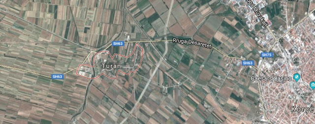 Archaeological site 'of treasuries' found in Turan of Albania