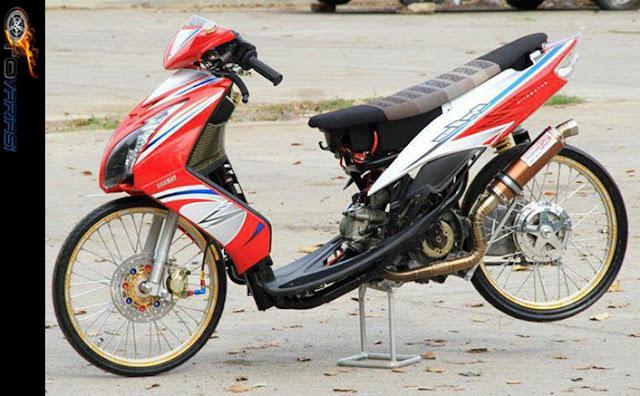 motor honda vario modifikasi