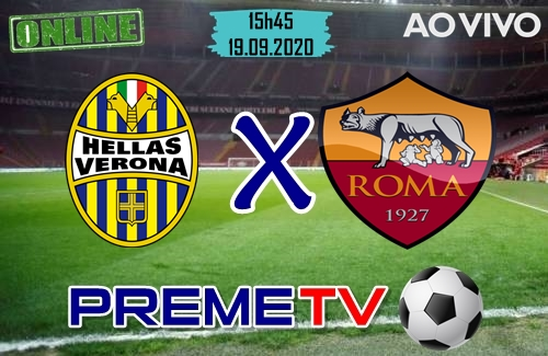 Hellas Verona x Roma Hoje Ao Vivo
