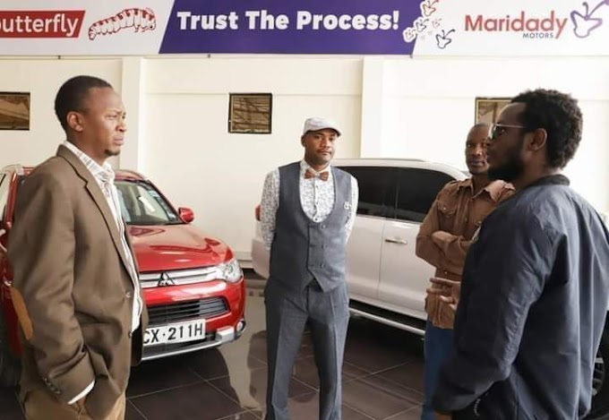 Uhuru's look-alike lands an advertisment gig