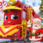 لعبة قطار بابا نويل