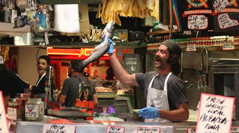 Pike Place Fish Market Seattle