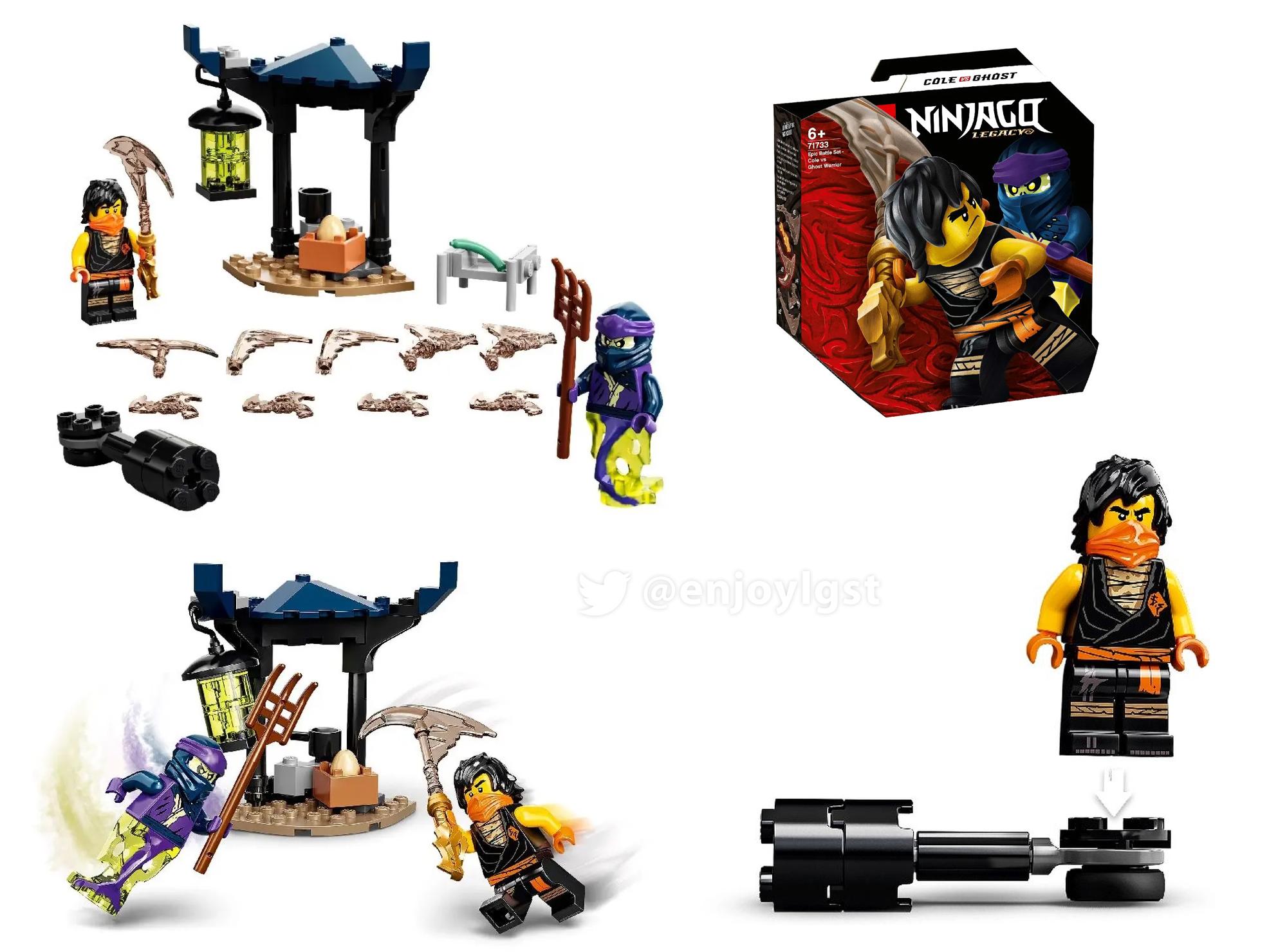 2021年レゴニンジャゴー新製品第1弾情報!(ポリスと消防以外):みんな大好きレゴ定番シリーズ!