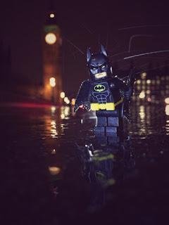 Batman at Big Ben
