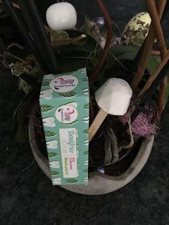 Dentifrice solide à la menthe poivrée Lamazuna de la Biotyfull Box de juin, slow cosmétique