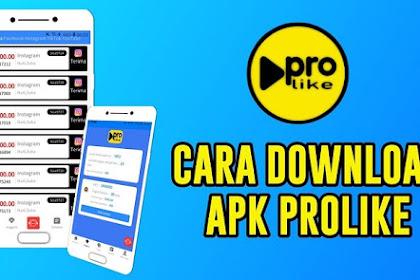ProLike APK - Aplikasi Android Penghasil Uang Terbaru 2020