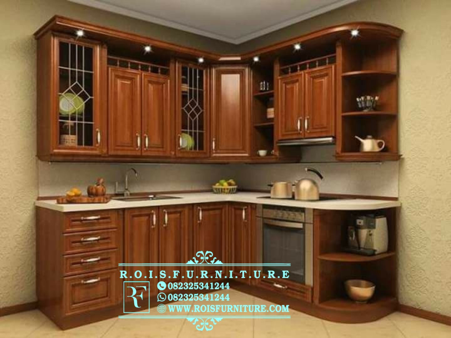 Kitchen Set Model Minimalis Modern Rois Furniture Jepara