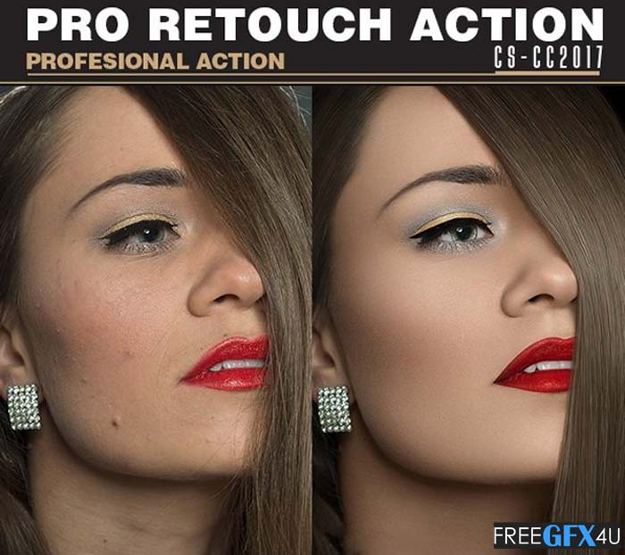 Pro Retouch Action Free Download