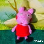 patron gratis cerda peppa pig amigurumi | free amigurumi pattern pig peppa pig