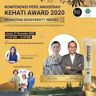 Yuk Kenal Lebih Dekat Para Peraih KEHATI Award 2020!