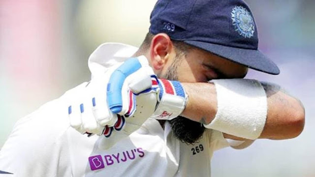 Kohli could not score a single century in 2020, for the first time in 12 years